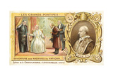 Pope Leo XIII Opening the Vatican Archives, 1881 Giclee Print