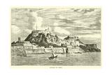 Citadel of Corfu Giclée-tryk