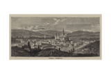 Evreux, Normandy Giclee Print