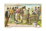 At the Racecourse: on the Scales Giclee Print