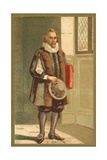 Sir Francis Bacon, English Philosopher and Author Giclee Print