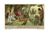Orpheus Charms the Wild Animals Giclee Print