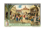 Old Hofbrauhaus in Munich, 1830 Giclee Print