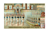 Religious Dance in the Temple of Isis, Egypt Giclee Print