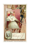 Diego Velasquez, Spanish Painter, and Portrait of Pope Innocent X Giclee Print