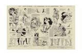 Dessus Et Dessous, Chaussures, Bas Et Jarretieres Giclee Print