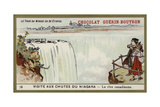 Visit to Niagara Falls - the Canadian Side Giclee Print