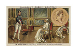 Napoleon Meeting with Pope Pius VII at Fontainebleau Giclee Print