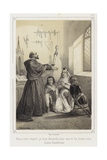 Before You Leave I Request Your Holy Blessing for Me and Mine Giclee Print