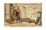 Hieroglyphs, Ancient Egypt Giclee Print