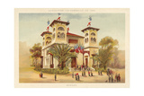 Pavilion of Monaco, Exposition Universelle 1889, Paris Giclee Print