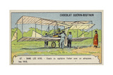 Captain Ferber Carrying Out Trials of an Aeroplane, Issy, France, 1905 Giclee Print