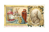 John, King of England, Sends His Submission to Pope Innocent Iii, 1213 Giclee Print