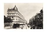 Rue Reaumur, Paris, 1900 Giclee Print