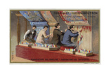 Manufacturing Tapestries at the Gobelins Manufactory Giclee Print
