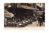 Cafe Royal, Montmartre, 1900 Giclee Print