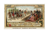End of Year Parade at the Military School of Saint-Cyr, France Giclee Print