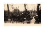 Swings on the Champs Élysées, Paris, 1905 Giclee Print