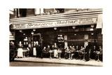 Brasserie Balzar, 49 Rue Des Écoles, Paris, 1920 Giclee Print