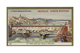 The Ponte Vecchio over the Arno, Florence Giclee Print