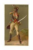 Toussaint Louverture, Leader of the Haitian Revolution Wydruk giclee