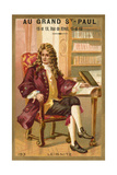 Gottfried Wilhelm Leibniz, German Mathematician and Philosopher Giclee Print