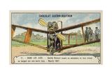 Santos-Dumont Testing an Aeroplane, Neuilly, 1907 Giclee Print