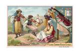 Gypsy Fiddlers Giclee Print