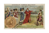 Cardinal Richelieu at the Siege of La Rochelle Giclee Print