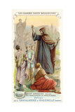 St Gregory Sends Missionaries to England, 596 Giclee Print