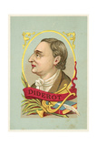 Denis Diderot, French Philosopher and Writer Giclee Print