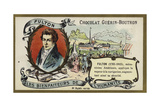 Robert Fulton, American Engineer and Inventor Giclee Print