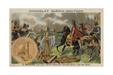 St Genevieve Repelling Attila the Hun, 451 Giclee Print
