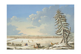 View of St Petersburg, Published in Paris C.1850 Giclee Print