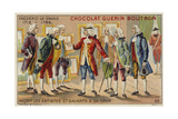 Frederick the Great Receiving Artists and Scholars at His Court Giclee Print