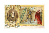 Pope Julius II with Michelangelo, 16th Century Giclee Print