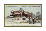 The Royal Residence at Phnom Penh, Cambodia Giclee Print
