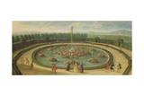 The Basin of Enceladus at Versailles, Early Eighteenth Century Giclee Print