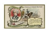 Gilbert Du Motier, Marquis De Lafayette, French Soldier Giclee Print
