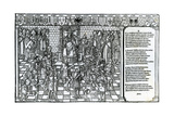 Pope Urban II Presiding over the Council of Clermont in 1095 Giclee Print