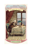 Emile Littre, French Lexicographer and Philosopher Giclee Print