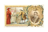 Pope Benedict XIV, Patron of the Arts, 18th Century Giclee Print