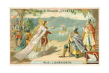 Scene from Richard Wagner's Opera Lohengrin Giclee Print