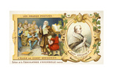 St Gregory the Great, and a School of Gregorian Chant Giclee Print