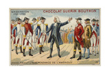 George Washington Proclaiming America's Independence Giclee Print