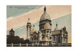 Paris, Montmartre, L'Eglise Du Sacre-Coeur Giclee Print