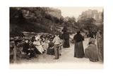 Square Saint Pierre, Montmartre, Paris, 1904 Giclee Print