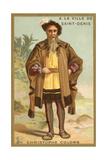 Christopher Columbus, Genoese Navigator Lámina giclée