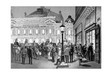 The Opera, Paris, 1875-80 Giclee Print