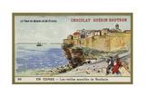 The Old Walls of Bonifacio, Corsica Giclee Print